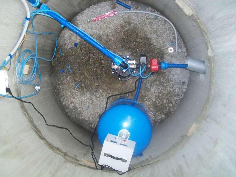 какое оборудование ставить на скважину для полива зимой Комфорт Комоды