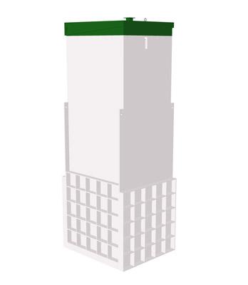 Септик ТОПАС 5 Long Пр - Топол Эко автономная канализация