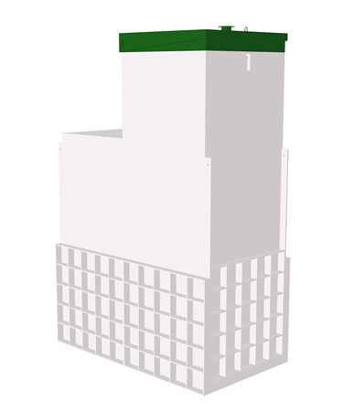 Септик ТОПАС 12 Long Пр - Топол Эко автономная канализация