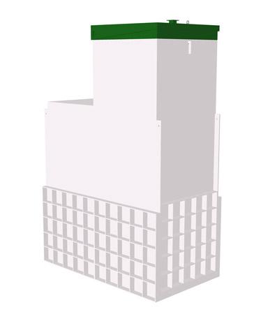 Септик ТОПАС 12 Long Пр Ус - Топол Эко автономная канализация
