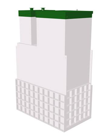Септик ТОПАС 15 Long Пр - Топол Эко автономная канализация