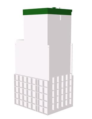 Септик ТОПАС 8 Long Пр - Топол Эко автономная канализация
