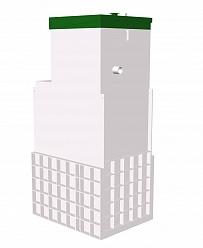 Септик ТОПАС-С 8 long Пр Ус - Топол Эко автономная канализация